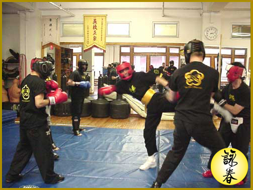 Wing Chun Class Sparring Nyc